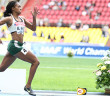 Tahesia Harrigan-Scott competing during last year's IAAF World Outdoor Championships in Moscow, Russia