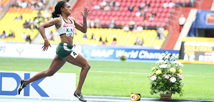 Tahesia Harrigan-Scott eyeing IAAF World Indoor Championships final