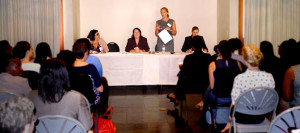 from left Sinead Harris – Forbes Hare, Claire Abrehart - Coverdale, Eleanor Morgan – Mourant Ozannes, Julie Engwirda – Walkers.