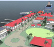 Rendering of Tortola Pier Park. (Photo credit: Downing & Associates)