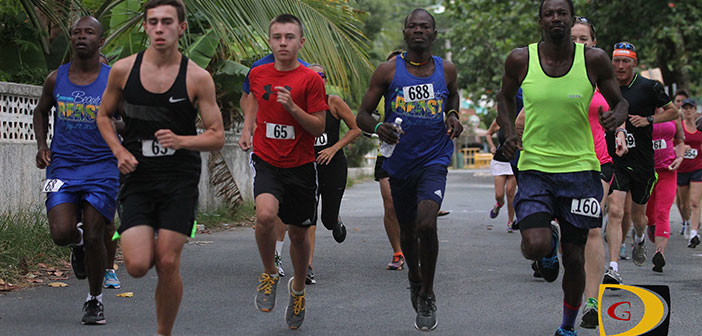 Pipe wins Ceres Juices 10K race in Carrot Bay