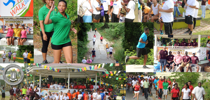 HUNDREDS SUPPORT HEALTH AND WELLNESS WORKFORCE WALK