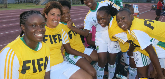 Kaza burns BVI's defense with hat trick in 3-0 victory
