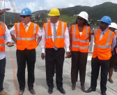 Governor Duncan On Site With Minister Vanterpool