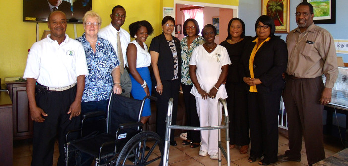 ROTARY CLUB SUNRISE OF ROADTOWN ADOPTS ADINA DONOVAN HOME