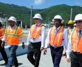 Government Officials Visit Cruise Pier Expansion Project Site