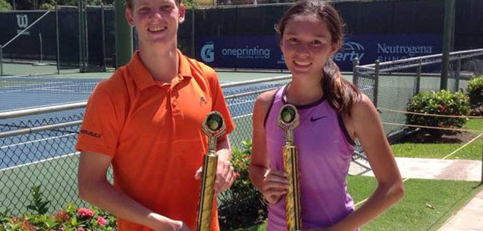 Paul Oliver And Justine Bryson  Win Singles Titles  In Puerto Rico