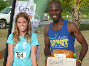 Tallulah Kinkead and Julius Farley repeat earlier victories on Beef Island