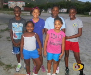 BVI Swimmers who competed in St. Thomas on Saturday