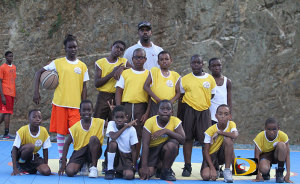 Francis Lettsome Primary School's Basketball team