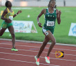 """Tarika """"Tinker Bell"""" Moses, seen here competing at the 2013 Carifta Games, returned to action after injuries cut short her 2014 season. She made her 800m debut with a 2:12.46 Indoor National Record in Boston.  PHOTO CREDIT:  Dean """"The Sportsman"""" Greenaway"""