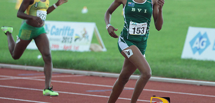 """Tarika """"Tinker Bell"""" Moses Nab 800m Indoor Record In Debut"""