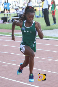 Taylor Hill competed during the 2014 Carifta Games in Fort de France, Martinique