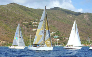 An international fleet includes yachts and crews competing for the first time in the BVI Spring Regatta & Sailing Festival   -- © Todd vanSickle/BVI Spring Regatta