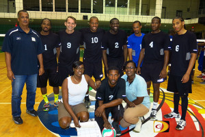 St. Thomas' Bang Dem, is the first team from the U.S. Virgin Islands to play in the BVI Volleyball Association Power League