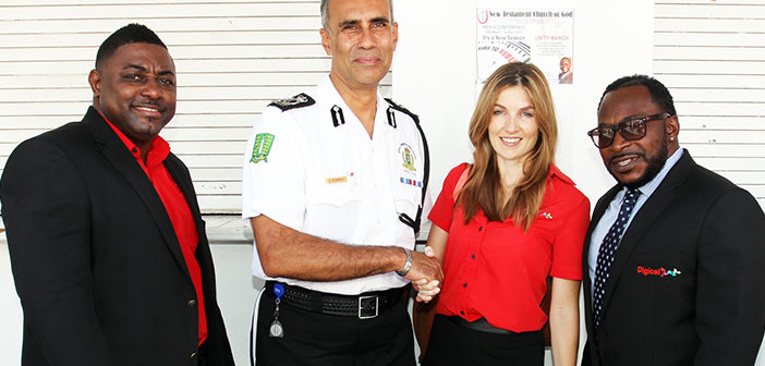 Digicel Partners With Rvipf To Mark Police Week 2015