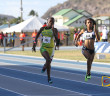"The BVI fielded two in the U20 Girls 400m Intermediate Hurdles for the first time in its History of Carifta Games competition. Jonel Lacey, right and Lakeisha ""Mimi"" Warner competed against the Jamaicans, with Lacey claiming bronze"