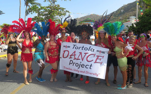 Tortola Dance Project demonstrates diversity [Photo by Dean Greenaway]