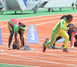Tahesia Harrigan-Scott works on her start during the NACAC Championships in Costa Rica. She will line up against her peers for a sixth straight time on Sunday in Beijing, China, in the 15th IAAF World Championships.