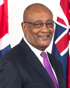 Minister for Health and Social Development, Honourable Ronnie W. Skelton