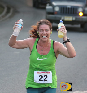 Anna Kinked tuned up for her 2nd Marathon during last month's Deloitte-Ogier BVI Sunrise Half Marathon