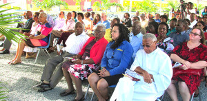 The inauguration ceremony of the CTL Mega Store attracted a large crowd; in attendance were Premier Dr. the Honourable D. Orlando Smith and First Lady Lorna Smith, Ministers of Government, high officials and a vast cross-section of the community  from all over the Territory [Photo by Astrid Wenzke]