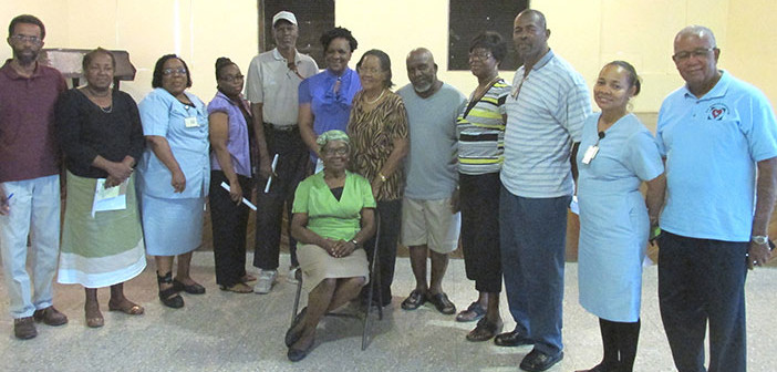 Eastern Branch of the BVI Diabetes Association opened (by Astrid C Wenzke)