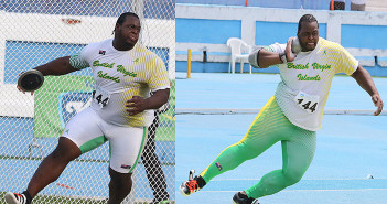 Eldred Henry won the Discus Throw bronze on Friday and the Shot Put bronze on Sunday in the NACAC U23 Championships in El Salvador