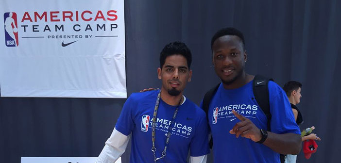 Americas Team Basketball Camp An 'Awesome Experience' For Edwin