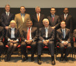 BVI High Court Judge, Commercial Division, Justice Barry Leon (standing, fourth from left) represented the British Virgin Islands at a Singapore JIN Conference focusing on guidelines for cross-border insolvency matters