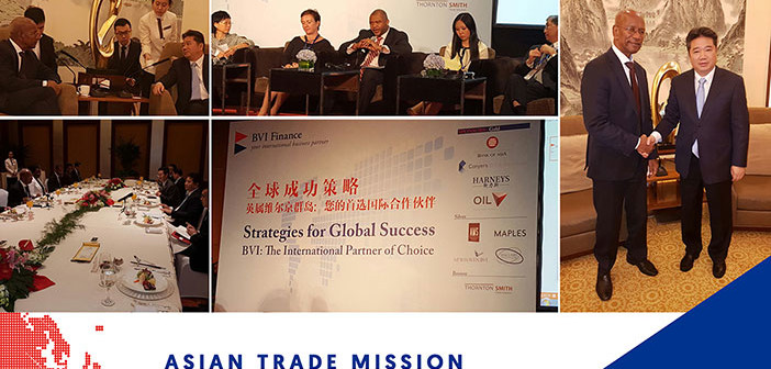 BVI Asian Trade Mission Spends Second Day In Beijing