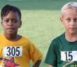Khadijah Sampson, left, and Sam Potgieter have dominated the One Mile Division with record runs.