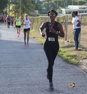 Saungie Liburd was the top woman on Virgin Gorda