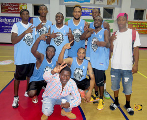 Splash Brothers became the fourth team to win the Hon. Julian Fraser Save The Seed Basketball League title