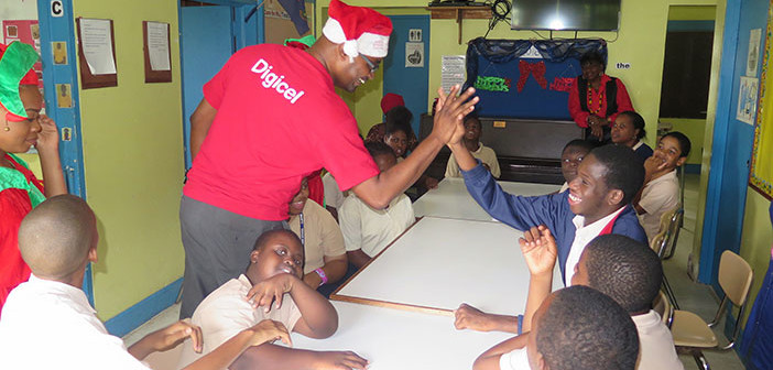 Special Needs Students Get Gifted For Christmas By Digicel