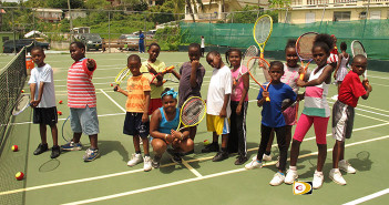 A Jr. Tennis Tournament for young players will end the BVI Tennis Association year of activities