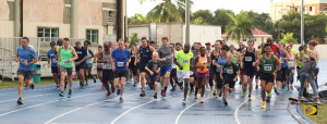 The 2017 Road Racing Season on Tortola, kicked off with 77 participants on Saturday at the A. O. Shirley Grounds with the Blenheim Trust 5K Series.