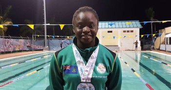 Elinah Phillip Snatches Two Carifta Games Swimming Silver Medals