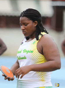 Discus Thrower, Tynelle Gumbs