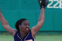Dat's Your Problem's Shakira Skelton was the winning pitcher against the Lady Pirates