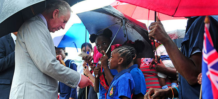 His Royal Highness, The Prince Of Wales Visits The British Virgin Islands