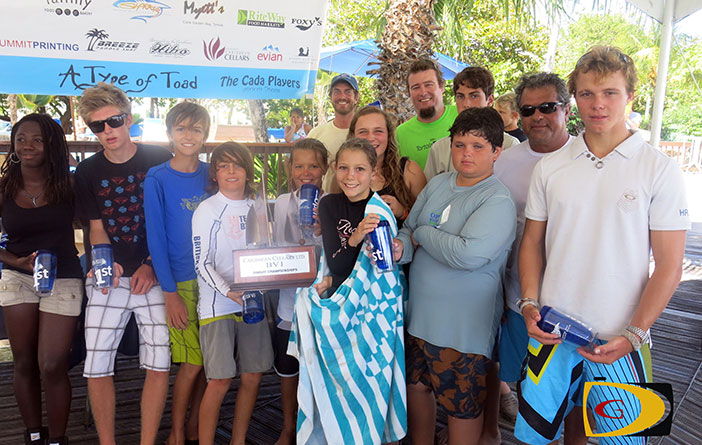 BVI Dinghy Championships winners