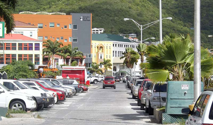 Parham Town Road, East End Tortola (Photo L. Dawson/GIS)