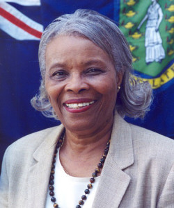 Former Deputy Chief Minister Eileene L. Parsons