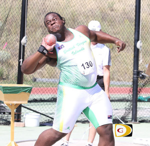 Eldred Henry became the BVI's first athlete to win National Jr. College Championships titles in two different events. He won the Shot Put with a heave of 18.63m and defended his Discus Throw crown with a 50.21m effort.
