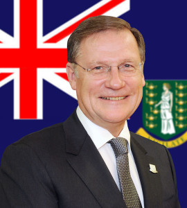 His Excellency the Governor, John Duncan, OBE