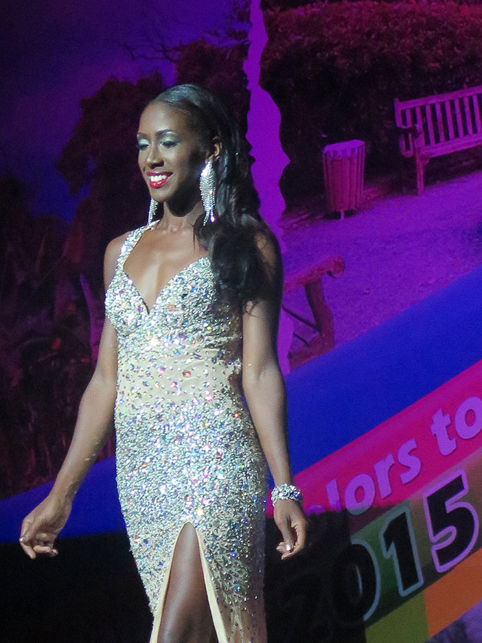 Helina Hewlett, Miss Congeniality, Miss Popularity, Best Poise and Best Evening Gown.