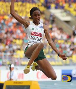 Chantel Malone is the second BVI athlete to finish in the top five at the Pan Am Games, joining her cousin Tahesia Harrigan-Scott, who did it in 2007 during the Pan Am Games in Rio de Janeiro, Brazil