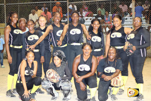 The Pythons won the 4th straight BVI Softball Association Women's Division title