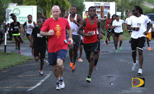 Runners will be out in force for this year's 20th annual College Classic Series on Tortola
